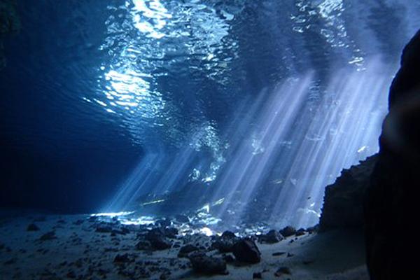 Best scuba destinations for new divers - scuba diving Tulum Mexico cenote diving