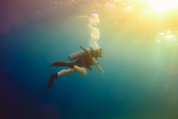 Best scuba destinations for new divers - scuba diving Dahab Egypt