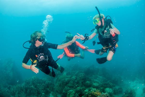 Best scuba destinations for new divers - scuba diving Koh Tao Thailand