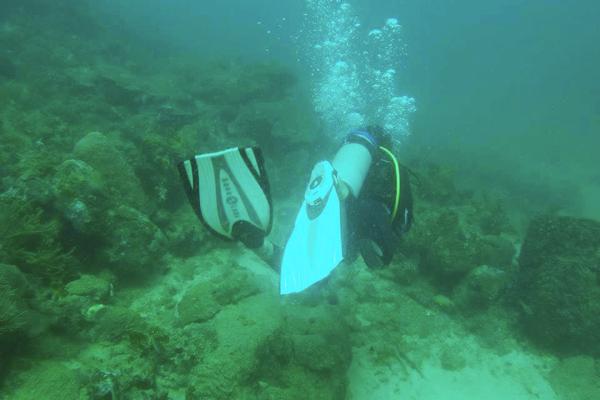 Best scuba destinations for new divers - scuba diving Taganga, Colombia